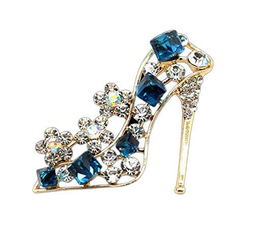 [해외]Doitsa 브로치 가슴 중공 라인 스톤 하이힐 빛나는 선물 선물 반짝/Doitsa brooch chest original hollow rhinestone high heel shining gift gift glitter