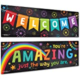 Sproutbrite Classroom Decorations Banner/Poster - Welcome Banner (Paper)