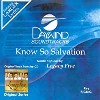 Know So Salvation [Accompaniment/Performance Track]【CD】 [並行輸入品]