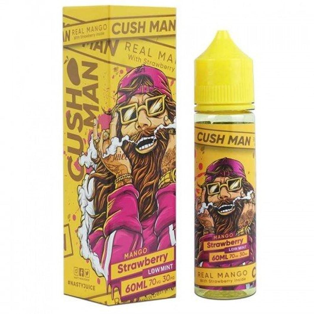 ファセットオーディションスカープ国内正規品 Nasty Juice Cush Man Series ナスティージュース VAPE 電子タバコ リキッド マレーシア産 (Mango Strawberry, 60ml)