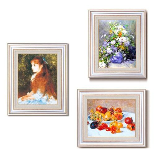 RoomClip商品情報 - ルノワール名画額F6AS 1733440・花瓶の花 1152al