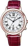 [シチズン]CITIZEN 腕時計 xC クロスシー エコ・ドライブ電波時計 ティタニアライン ハッピーフライトシリーズ CB1104-05A レディース