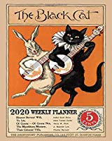 2020 WEEKLY PLANNER: The black cat weekly planner 2020, Weekly & Monthly Planner 2020, Calendar Schedule Organizer Appointment Journal Notebook and Action day