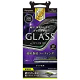Simplism iPhone 7 [FLEX 3D] 立体成型フレーム ガラス フィルム ブラック TR-GLIP164-GOF3CCBK