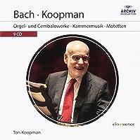Bach - Koopman : Orgel- und Cembalowerke - Kammermusik - Motetten (9CD)