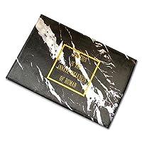 ZWD ホームフロアマット、大理石パターン長方形スモールカーペットリビングルームベッドルームスタディキッチンホテルセーフノンスリップ吸盤1cm 繊維 (色 : A, サイズ さいず : 50 * 80CM)