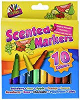 Artbox 10 Scented Markers - Assorted Colours & Scents