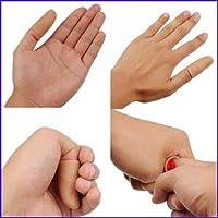 sharprepublic 手品用品、マジックトリック/マジックハンカチ、サムチップと赤いハンカチのセット
