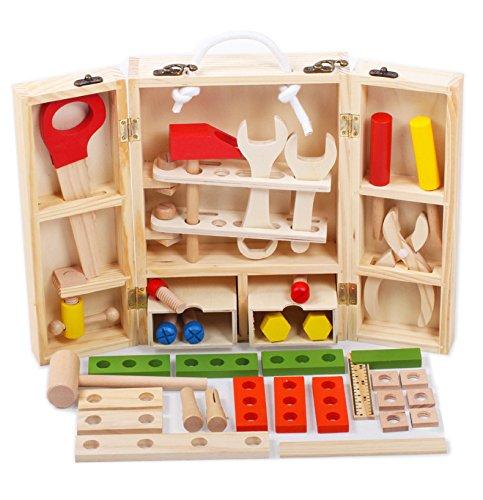 JUST style 【国内検査済】男の子のおもちゃ 積み木 知育玩具 で おままごと 「はじめての...