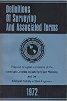 Definitions of Surveying and Associated Terms