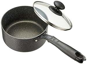 和平フレイズ 片手鍋 煮物 茹で物 ダブルマーブル 16cm IH対応 WR-6292