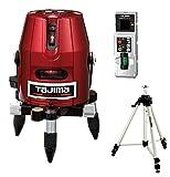 タジマ レーザー墨出し器 ゼロKJY 受光器・三脚セット 矩十字・横 ZERO-KJYSET