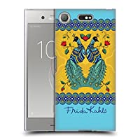 Official Frida Kahlo ペア ピーコック ソフトジェルケース Sony Xperia XZ1 Compact