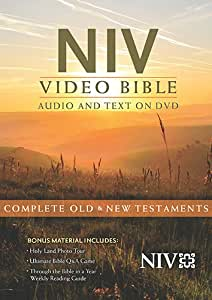 NIV Video Bible: Complete Old & New Testaments, New International Version [DVD]