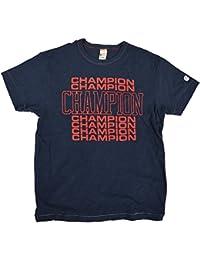 (トッドスナイダー) TODD SNYDER × CHAMPION SHADOW BLOCK GRAPHIC T-SHIRT Tシャツ (並行輸入品)