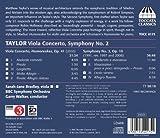 マシュー・テイラー:ヴィオラ協奏曲&交響曲 第2番(Matthew Taylor: Viola Concerto & Symphony No. 2) 画像