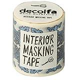 ニトムズ インテリアマスキングテープ 50mm タイル/ブルーB M3612