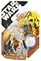 Star Wars Saga Legends Figure - Battle Droids (Regular Tan)