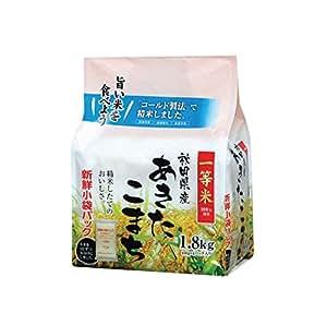 秋田県産 白米 あきたこまち 1.8kg 平成30年産