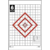 """Jericho Defenseスコープデータターゲットレッドダイヤモンドサイズは、18"""" x 18"""" 10¾ 10¾、"""" 36"""" x 3"""" x 6""""と1"""" x 1""""サイズ: 23"""" x 35""""レッド&ブラック"""