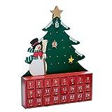 ツリーアドベントカレンダーとクルトS.アドラー社C6117クルト・アドラー木製雪だるま