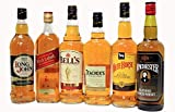 スコッチウイスキー飲み比べ限定6本セットホワイトホース、ベル、ウインチェスター、ジョニ赤、ロングジョン、ティーチャーズ