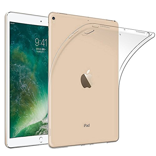 AVIDET 新型 アップル iPad Pro 10.5 ケース 衝撃吸収バンパー アンチスクラッチ ソフト TPU 耐スクラッチ全面保護 ソフト ケース (クリア)