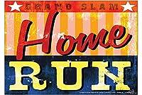 冷蔵庫用マグネット Fridge Magnet Retro M.A. Allen Baseball Home Run
