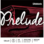 D'Addario Prelude Cello Single C String 4/4 Scale Medium Tension [並行輸入品]