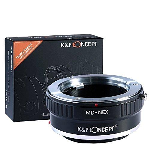 K&F Concept マウントアダプター 一眼レフカメラ用 「MD-NEX」ミノルタSRマウントレンズ x SONY (α NEX) E...