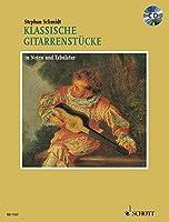Classical Guitar Pieces: German Text