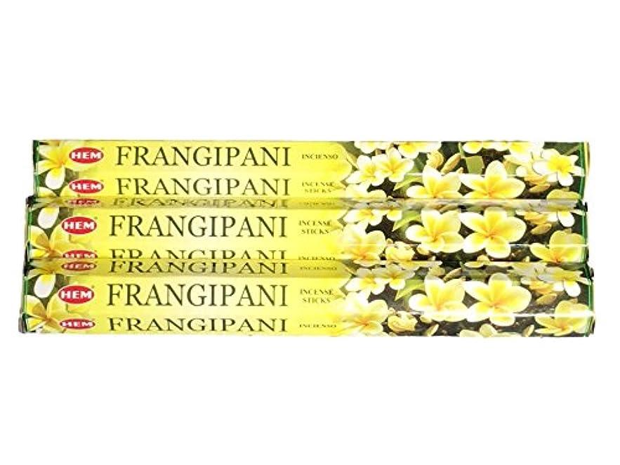 ハウジング情緒的増幅するHEM ヘム フランギパニ FRANGIPANI ステック お香 3箱