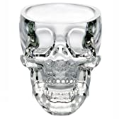 【ノーブランド品】ショットグラス  カップ ドクロ スカル 髑髏型 骸骨 海賊 73ml
