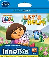 海外直輸入 ブイテック 大人気 未発売 正規品 クリスマス おもちゃ ゲーム ブロック 知育玩具 Xmas VTech - InnoTab Software - Dora The Explorer【JOY】
