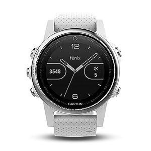 GARMIN(ガーミン) マルチ スポーツウォッチ fenix5s フェニックス5s White ホワイト GPS 腕時計 【日本正規品】 010-01685-36