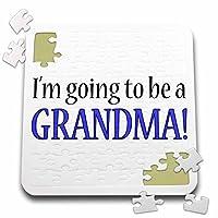 EvaDane–引用–Im Going To Be Aおばあちゃんブルー–10x 10インチパズル(P。_ 254689_ 2)