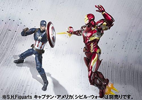 Details about New S H  Figuarts Captain America Civil War Iron Man Mark 46  figure Bandai