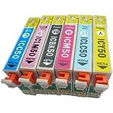 EPSON互換インク 6色セット IC6CL50