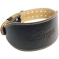 Harbinger  6 Inch Padded Leather Belt Black (Medium) 28-37waist 1 belt [並行輸入品]
