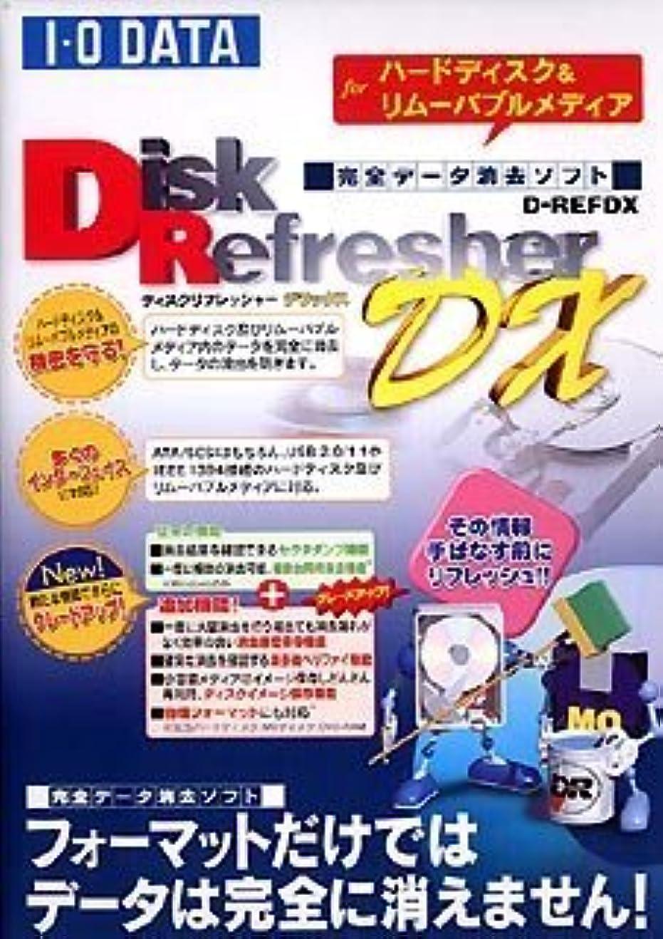 階下ゼロデンマークI-O DATA Disk Refresher DX