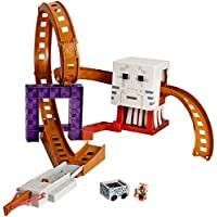 Hot Wheels Minecraft Ghast Attack Track Set [並行輸入品]