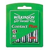 Wilkinson Sword ウィルキンソンの剣(ゾーリンゲン) 専用替刃 シック スーパーII プラスV、シック ウルトラ プラスV替刃、ジレットアクタスプラス、との互換性 - 40個 (4 x 10) [海外直送品] [並行輸入品]