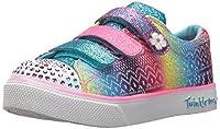Skechers Kids Girls' Twinkle Breeze 2.0-Sunshine SneakerMulti1.5 Medium US Little Kid [並行輸入品]