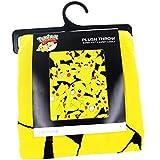 [バイオワールド]bioWorld Pokémon Pikachu All Over Print Fleece Throw Blanket, 48 x 60 190371265037 [並行輸入品]