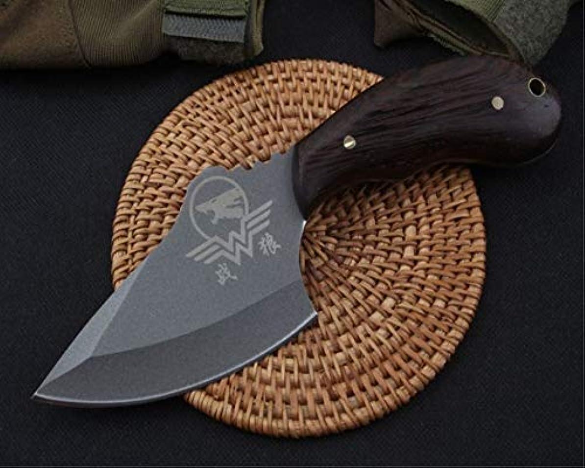 反抗不足コンチネンタル屋外戦術ナイフツール、サバイバルストレートナイフ