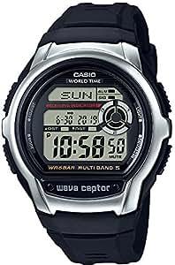 [カシオ] 腕時計 ウェーブセプター 電波時計 WV-M60-1AJF ブラック