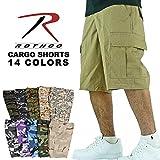 (ロスコ) ROTHCO / B.D.U MILITARY CARGO SHORTS ミリタリー カーゴ ショーツ (M, TIGER STRIPE CAMO/タイガーストライプカモ)