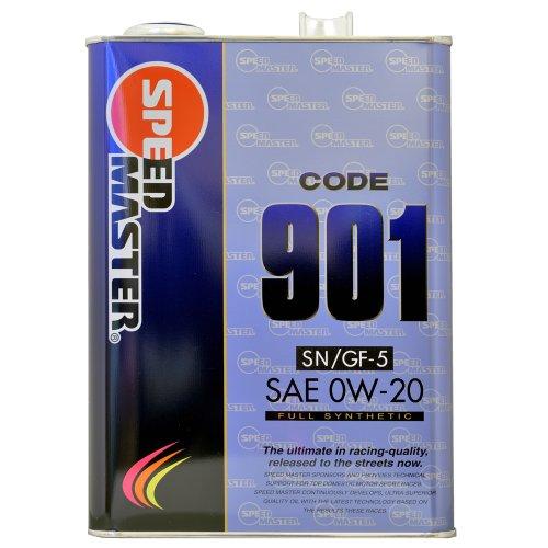 スピードマスター エンジンオイル CODE901 SN 0W20 4L [HTRC3]