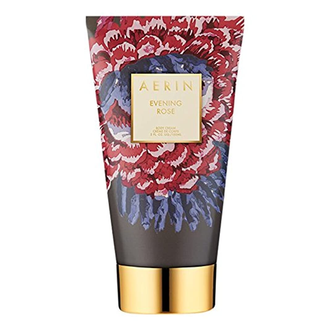 おっと哲学者めんどりAerinの夜は、ボディクリーム150ミリリットルをバラ (AERIN) (x2) - AERIN Evening Rose Body Cream 150ml (Pack of 2) [並行輸入品]