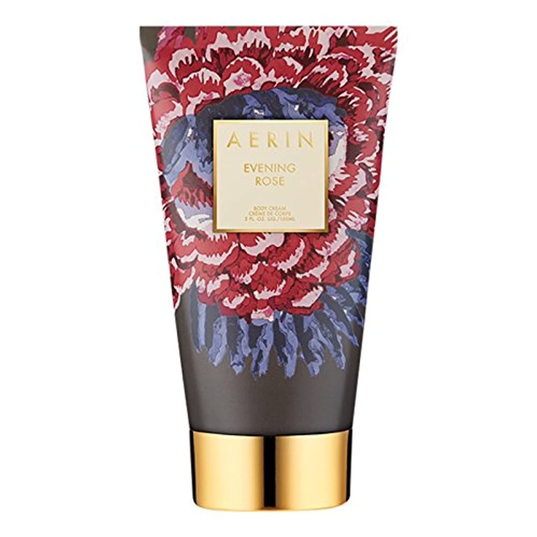 スポークスマン焦げ花瓶Aerinの夜は、ボディクリーム150ミリリットルをバラ (AERIN) (x6) - AERIN Evening Rose Body Cream 150ml (Pack of 6) [並行輸入品]